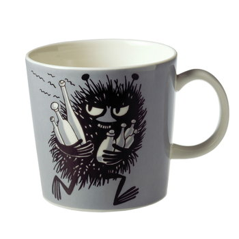 Arabia Moomin mug Stinky, grey