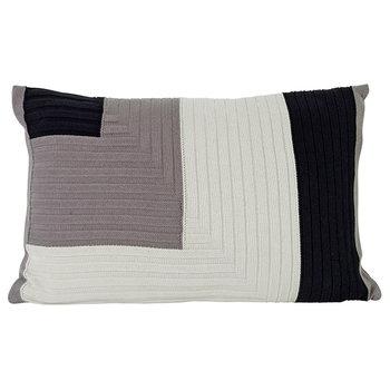 Ferm Living Angle Knit cushion, grey