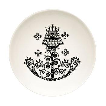 Iittala Taika deep plate 20 cm, black