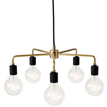 Menu Tribeca Leonard pendant lamp, brass