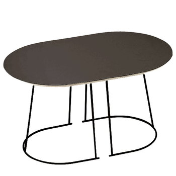 Muuto Airy coffee table, small, black
