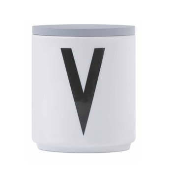 Design Letters Wooden cap, grey