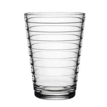 Aino Aalto juomalasi 33 cl, kirkas, 2 kpl