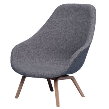 Hay About a Lounge Chair nojatuoli, AAL93, korkea