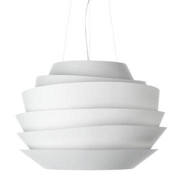 Foscarini Le Soleil pendant lamp, white