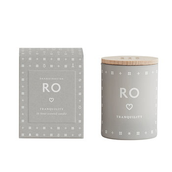 Skandinavisk Scented candle with lid, RO, small
