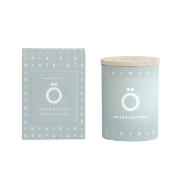 Skandinavisk Scented candle with lid, Ö, small