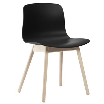 Hay About A Chair AAC12, soaped oak - black