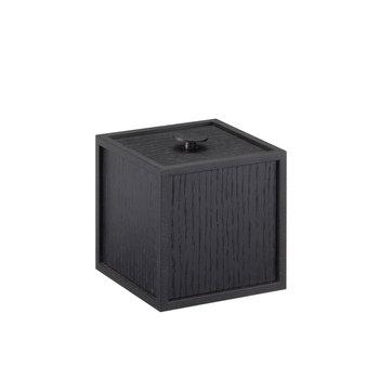 By Lassen Frame 10 laatikko, mustaksi petsattu saarni