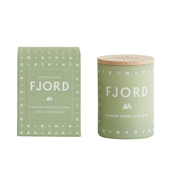 Skandinavisk Scented candle with lid, FJORD, small