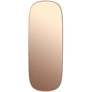 Framed peili, iso, roosa