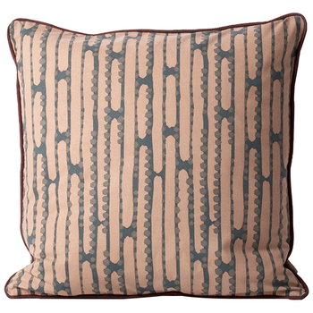 Ferm Living Aligned cushion, rose