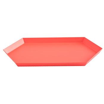 Hay Kaleido tray M, red