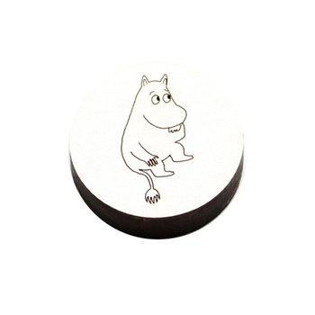 Kotonadesign Wooden magnet Muumipeikko, white