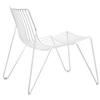 Massproductions Tio nojatuoli, valkoinen