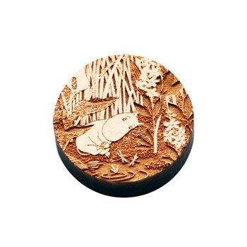 Kotonadesign Wooden magnet, Muumi lammella