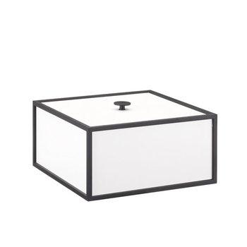By Lassen Frame 20 box, white