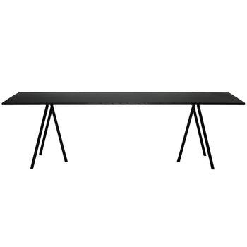 Hay Loop Stand table 200 cm, black