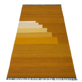 &Tradition Another Rug, yellow amber, 90 x 140 cm
