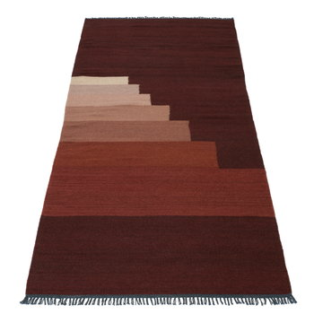 &Tradition Another Rug, red vulcano, 90 x 140 cm