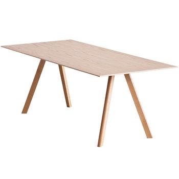 Hay Copenhague CPH30 table, lacquered oak