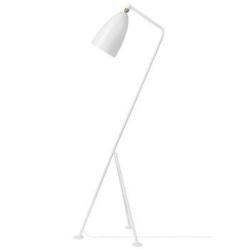 Gubi Gräshoppa floor lamp, white