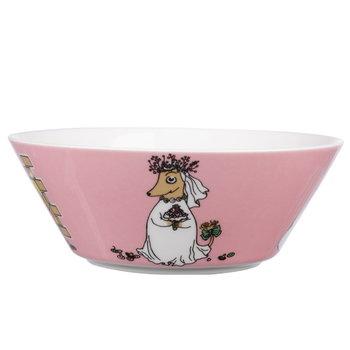 Arabia Moomin bowl Fuzzy, pink