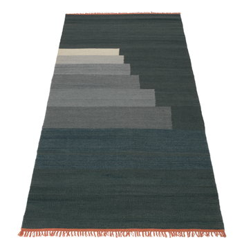 &Tradition Another Rug, blue thunder, 90 x 140 cm