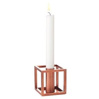 By Lassen Kubus 1 candleholder, copper