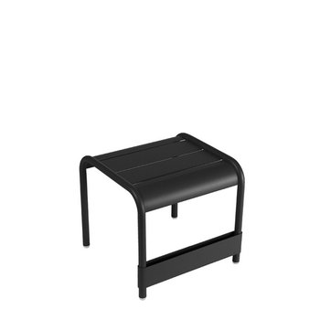 Fermob Luxembourg table / footrest, liquorice