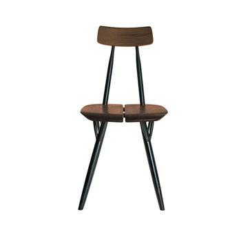 Artek Pirkka tuoli, ruskea-musta