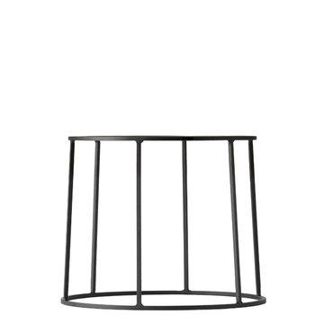 Menu Wire base, small, black