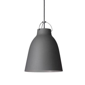 Lightyears Lampada Caravaggio P2, grigio scuro opaco