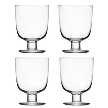 Iittala Lempi lasi, kirkas, 4 kpl