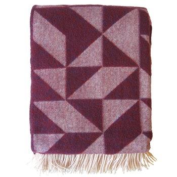Ratzer Twist a Twill blanket, purple