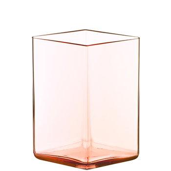 Iittala Ruutu vase, 115 x 140 mm, salmon