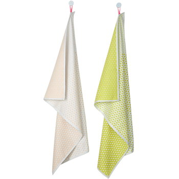 Hay S&B Tea towels, 2 pcs, Landscape Dots