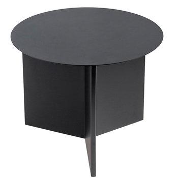 Hay Slit table Round, black