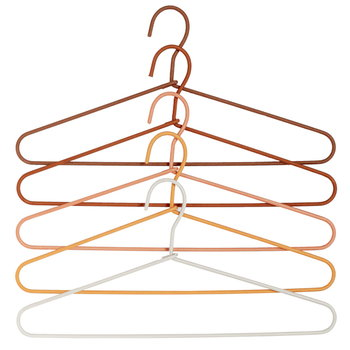 Hay Cord Hanger Fade, 5 pcs, orange