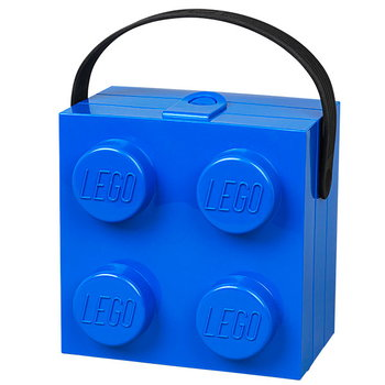 Room Copenhagen Lego lunch box with handle, blue