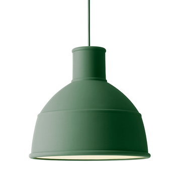 Muuto Unfold lamp, green
