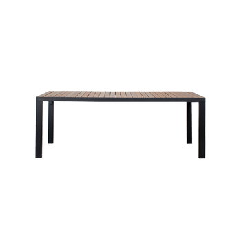 Röshults Garden dinner table 162, anthracite