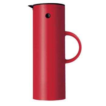 Stelton EM77 Termoskannu 1,0 L, punainen