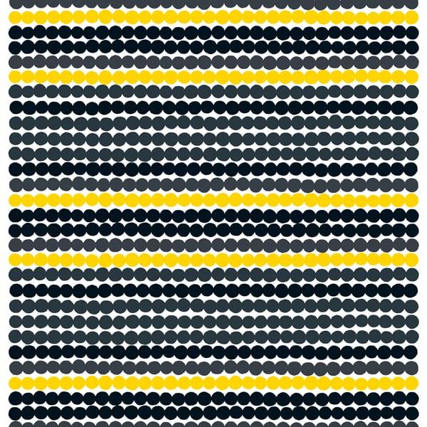 marimekko r symatto kangas musta keltainen finnish design shop. Black Bedroom Furniture Sets. Home Design Ideas