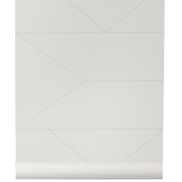 ferm living lines wallpaper off white finnish design shop. Black Bedroom Furniture Sets. Home Design Ideas