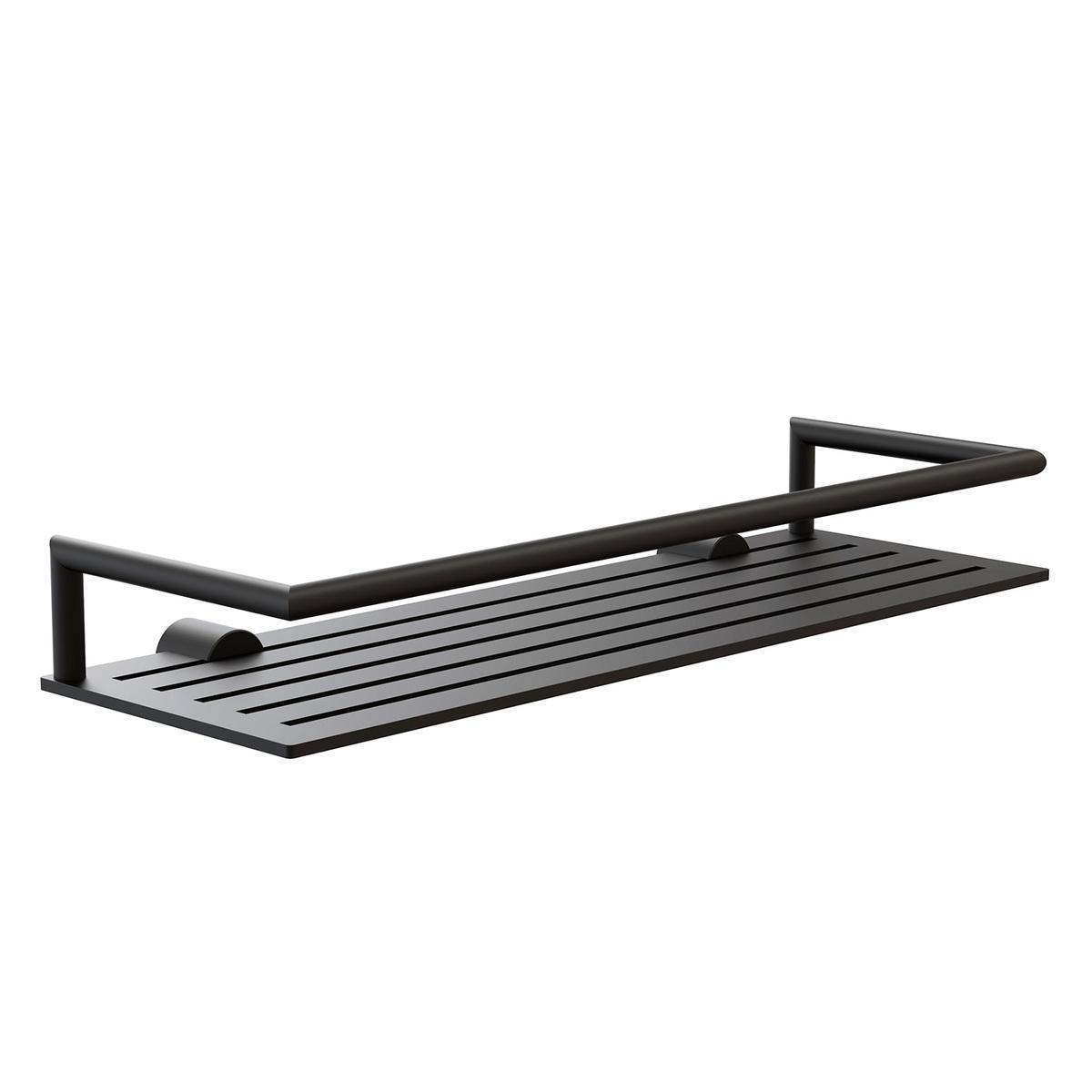 Frost Nova2 Shower Shelf 4 Black Finnish Design Shop