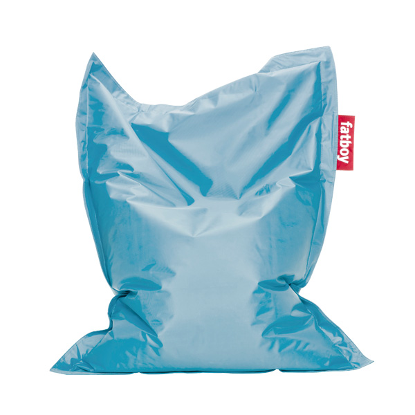 junior bean bag ice blue fatboy best price cover refill