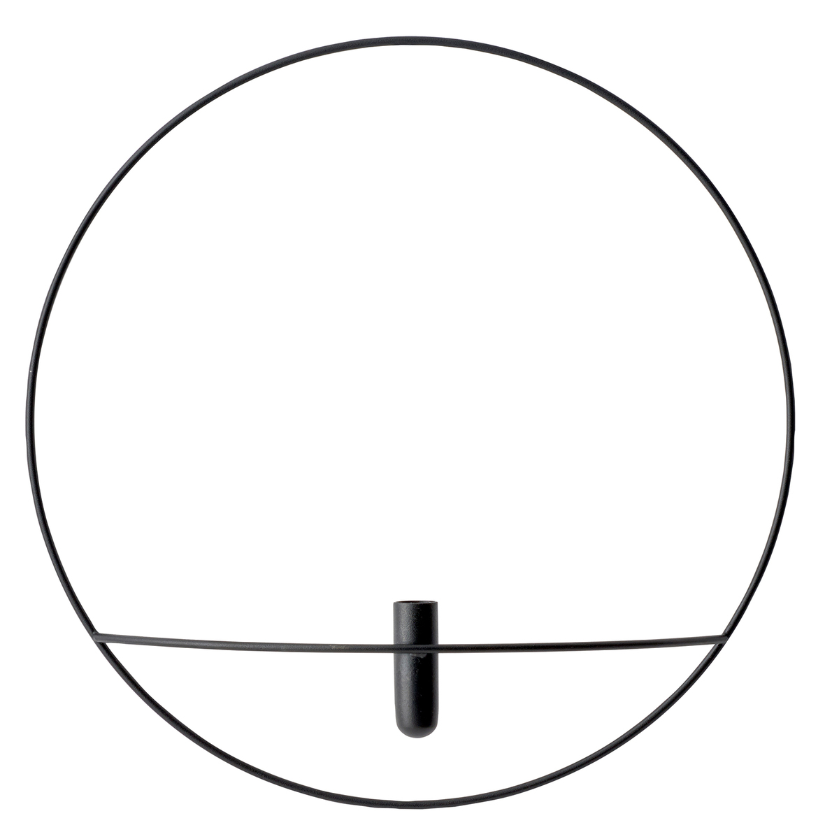 Menu POV Circle maljakko, L, musta