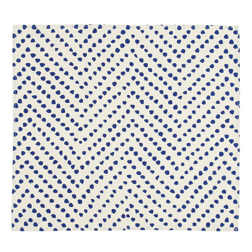 Marimekko Tinka tea towel, light beige - blue