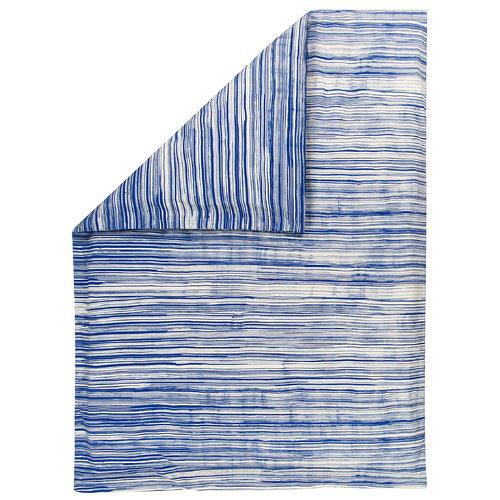 Marimekko Siluetti pussilakana, luonnonvalkoinen - sininen